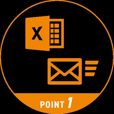 Excelやメールを操作